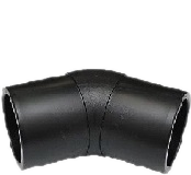 Отвод 45 градусов 400 литой полиэтиленовый ПЭ 100 SDR 17