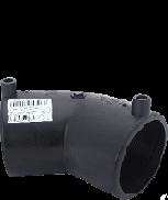 Отвод 45 гр, 75 электросварной полиэтиленовый ПЭ 100 SDR 11