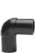 Отвод 90 градусов 200 литой полиэтиленовый ПЭ 100 SDR 11