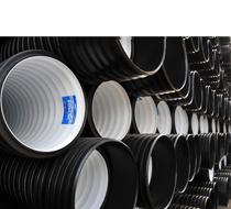 Трубы гофрированные ПНД для канализации