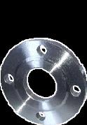Фланец стальной расточенный 80/90 под втулку ПЭ (ПНД) ру 10