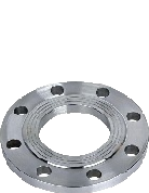 Фланец стальной расточенный 150/180 под втулку ПЭ (ПНД) ру 10