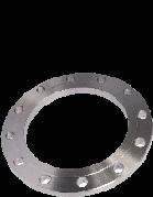 Фланец стальной расточенный 200/225 под втулку ПЭ (ПНД) ру 16