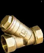 Фильтр сетчатый латунный